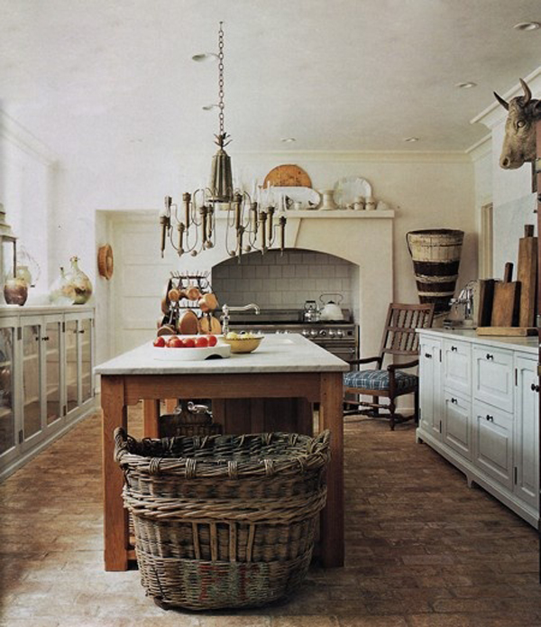 Big Questions For Small Country Kitchens: Country-kitchen-style