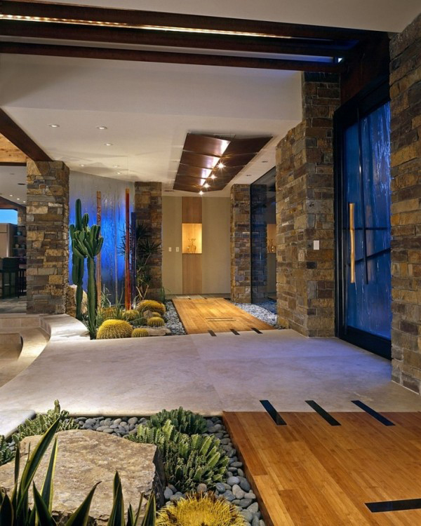 Indoor courtyard garden ideas for Indoor garden design pictures