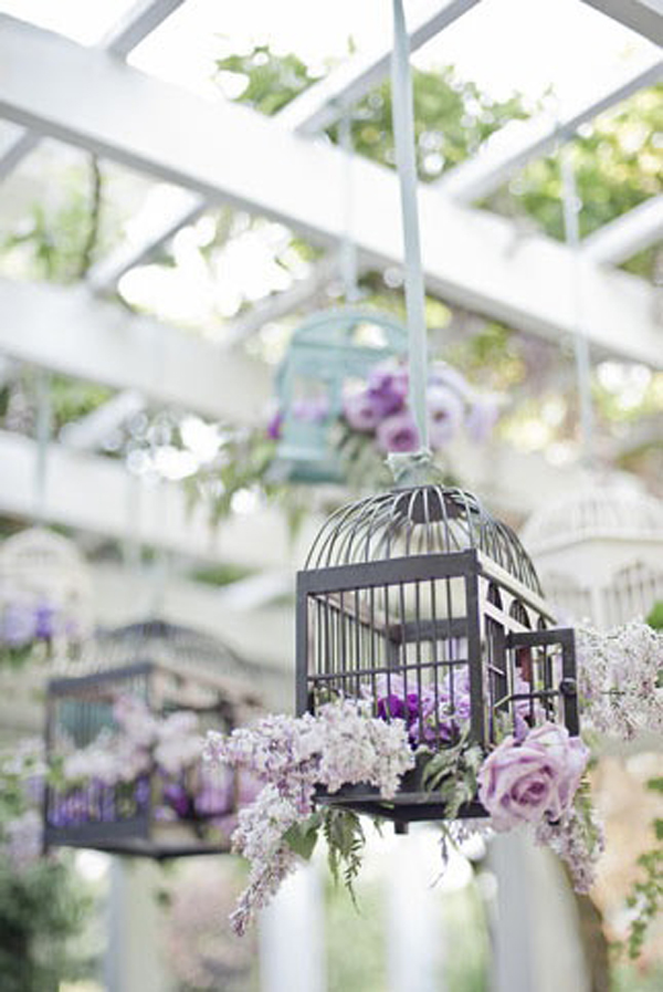 gallery of 20 flower birdcage decorations