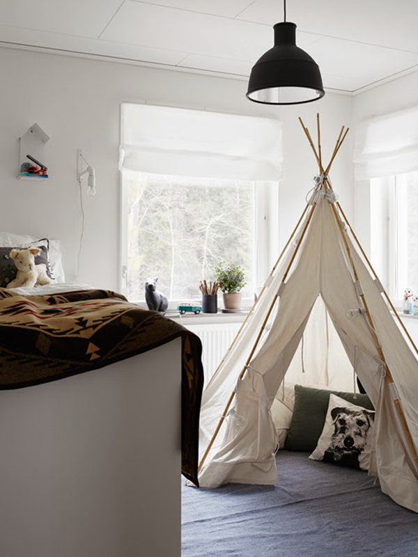 Gallery of 11 Kids Playroom With Tent Decorations & vintage-tent-kids-playroom-ideas
