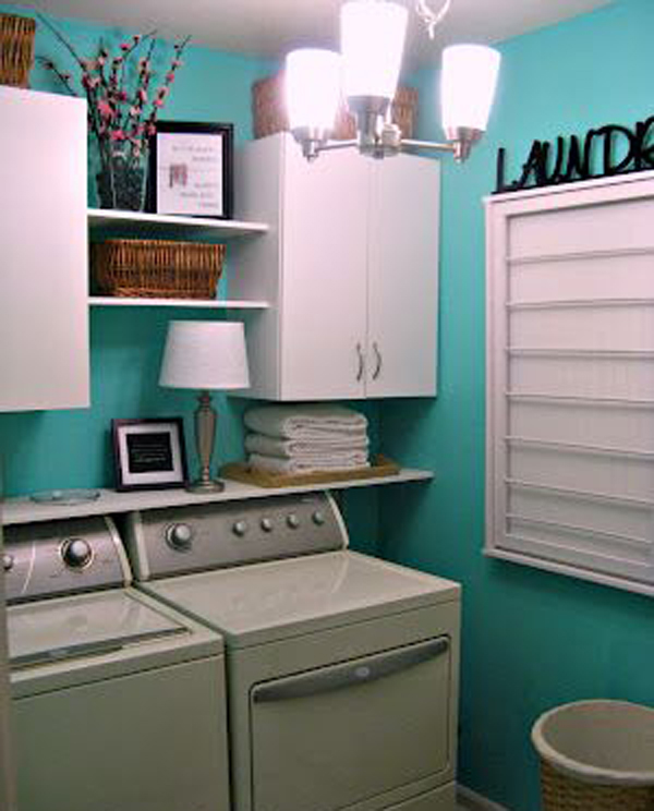 Minimalist laundry room ideas - Laundry room small space ideas paint ...