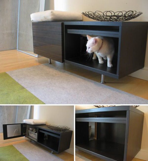 27 Awesome Cat Litter Box Homemydesign