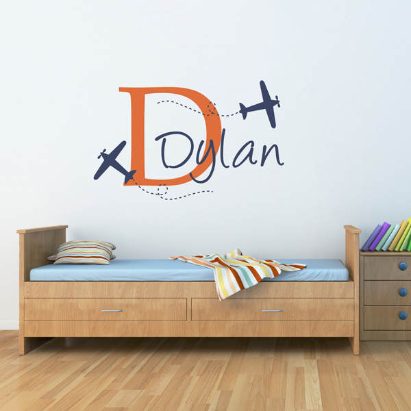 planes wall decal set home design and interior