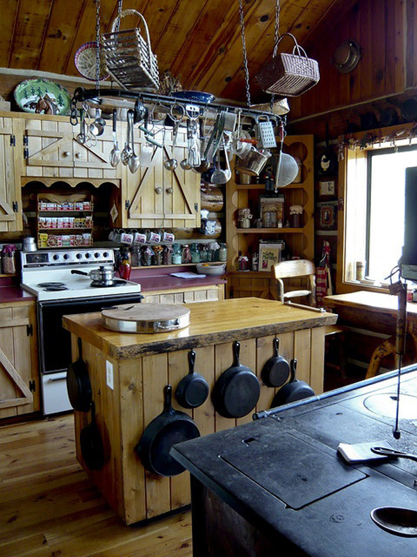 Country Home Kitchens Photos