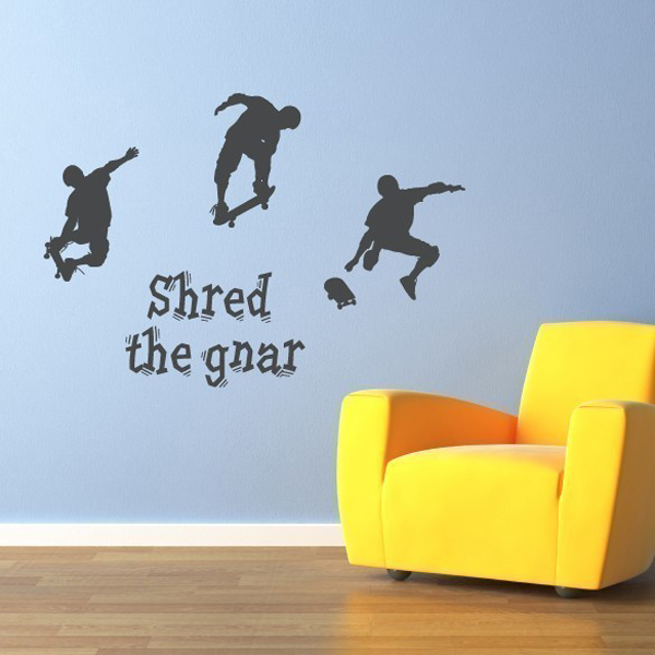 & skater-boys-wall-decals