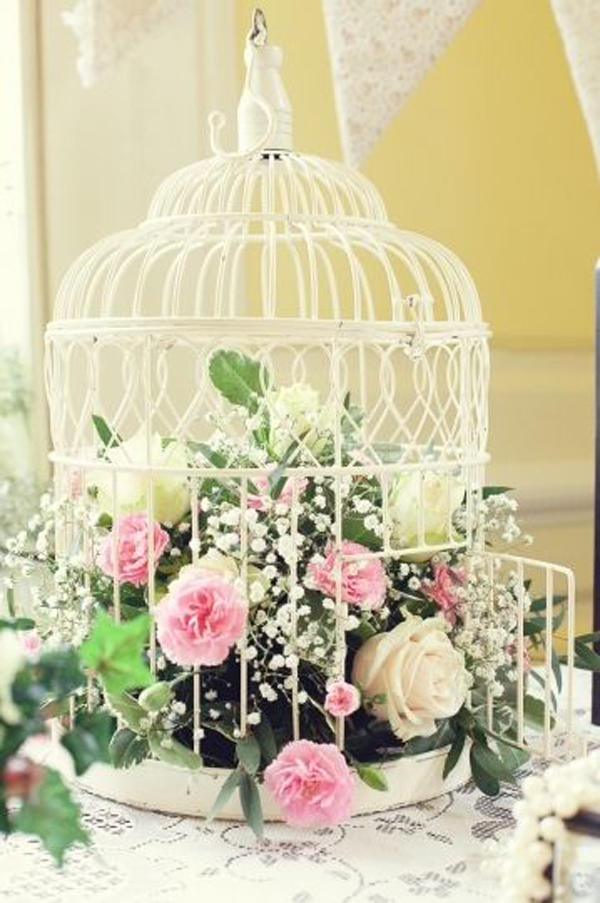 20 flower birdcage decorations home design and interior. Black Bedroom Furniture Sets. Home Design Ideas