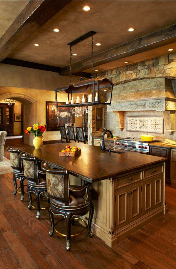 35 Country Kitchen Design Ideas | Home Design And Interior