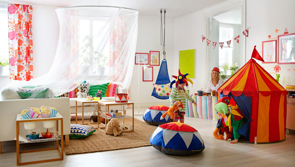 Childrens IKEA Playroom Inspiration Home Design And