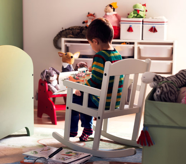 Children 39 s ikea playroom inspiration home design and for Childrens rocking chair ikea