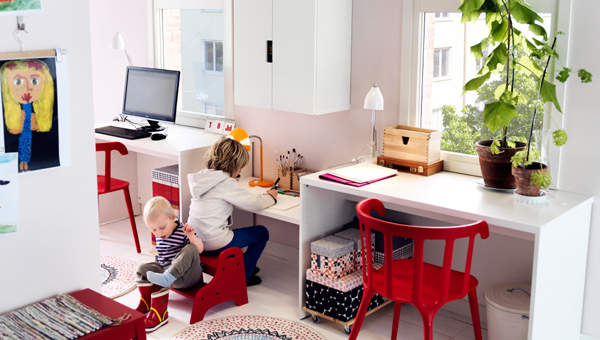 IKEA-kids-work-space