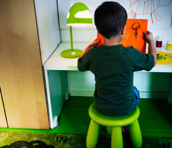 Ikea Kids Room Inspiration: IKEA-wild-office-room-for-children
