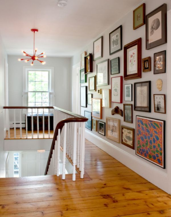 20 stairway gallery wall ideas home design and interior Art gallery interior design