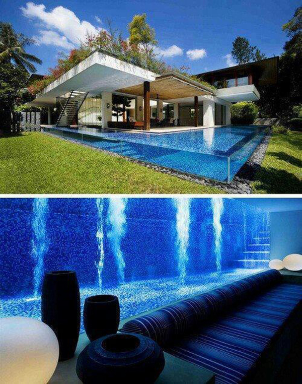 beautiful-outdoor-glass-swimming-pool   Home Design And Interior