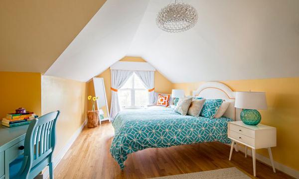 teenage girl attic room. beautiful ideas. Home Design Ideas