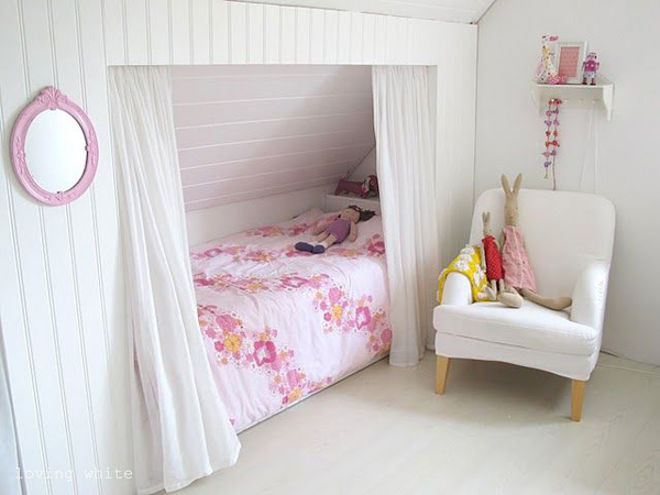 7 Inspiring Kid Room Color Options For Your Little Ones: Children-attic-room-ideas
