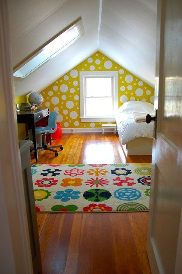 20 Bright Attic Room For Children 39 S Home Design And Interior