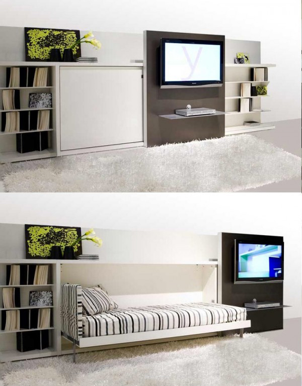Image Space Saving Bedroom. Image Space Saving Bedroom