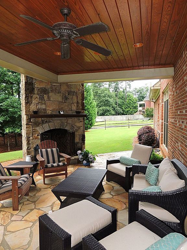 15 cozy outdoor living space home design and interior for Outdoor living space designs