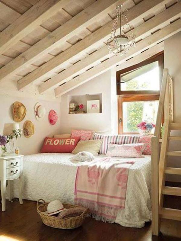 children's attic room ideas - cute attic room ideas