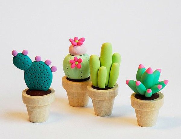 Creative ideas for your diy cactus home design and interior