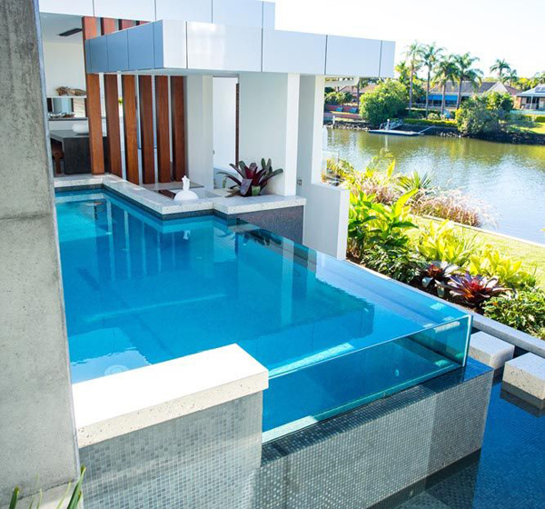 Glass Swimming Pool Design