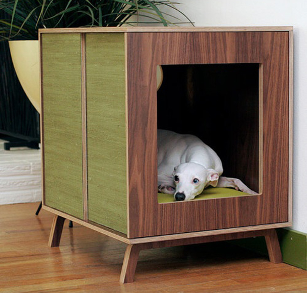 25 cool indoor dog houses home design and interior With modern indoor dog house