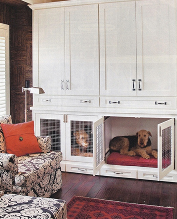 25 Cool Indoor Dog Houses | Home Design And Interior