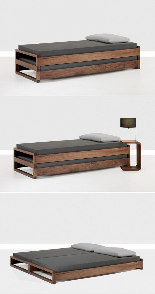Minimalist Single To Double Bed Design Interiors Inside Ideas Interiors design about Everything [magnanprojects.com]