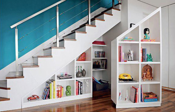 modern-bookshelf-understair-ideas