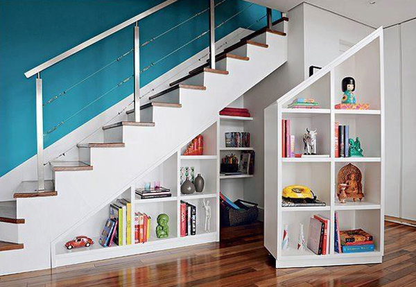 30 Modern Hallway Under Stairs With Storage Ideas  Home Design And ...