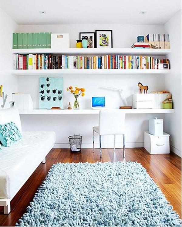 Modern Shelving Solution For Kids Room | HomeMydesign