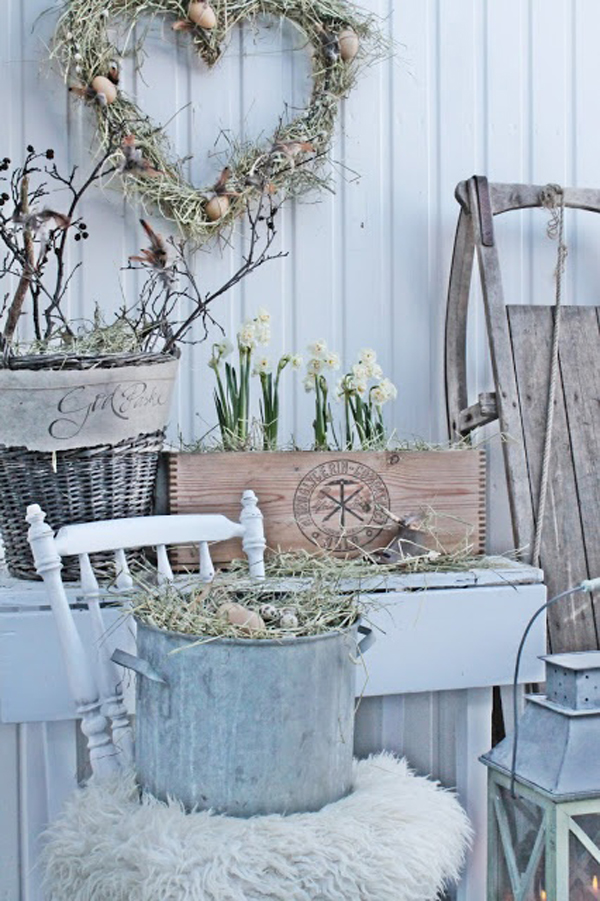 Vintage Backyard Decor : Gallery of 20 Inspiring Easter Decor With Vintage Touches