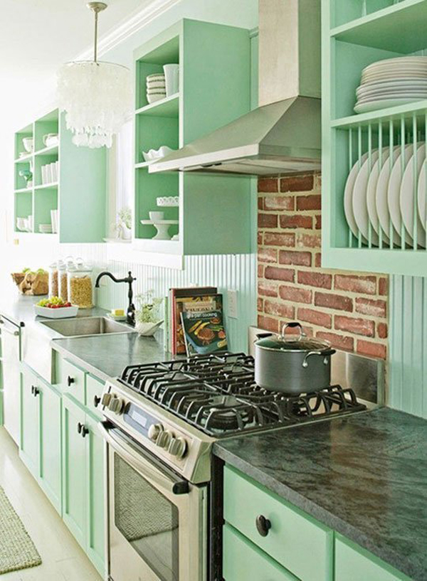 Pastel Blue Kitchen Winda 7 Furniture