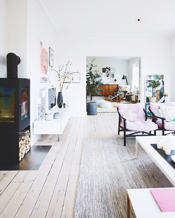 Shabby Chic House In Danish
