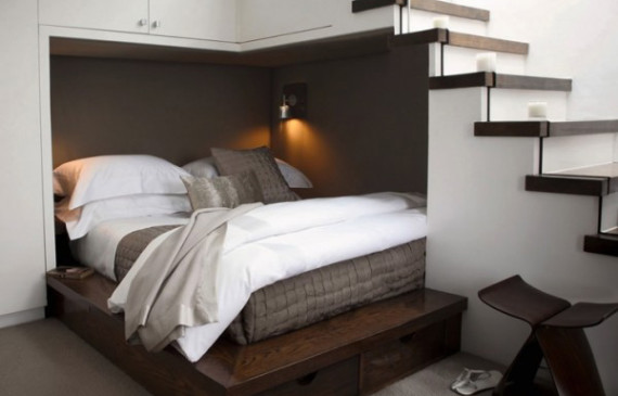 space-saving-understair-double-beds
