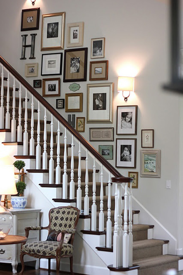 Gallery Wall Ideas For The Stairs Joy Studio Design