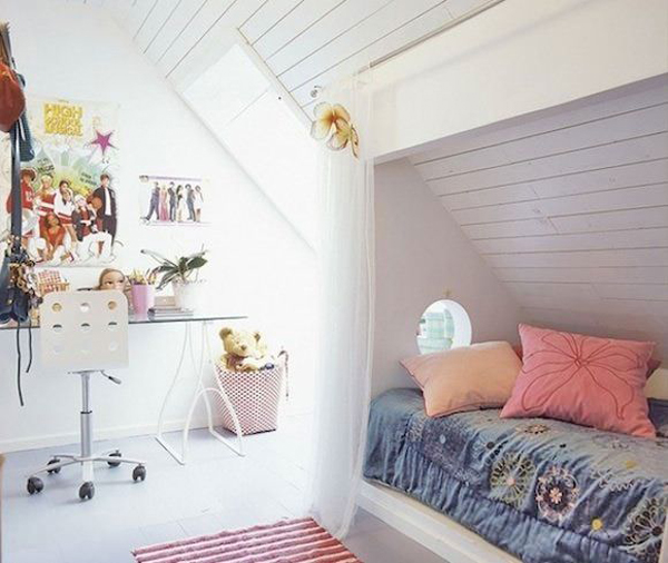 Gallery For Attic Bedrooms For Teenagers