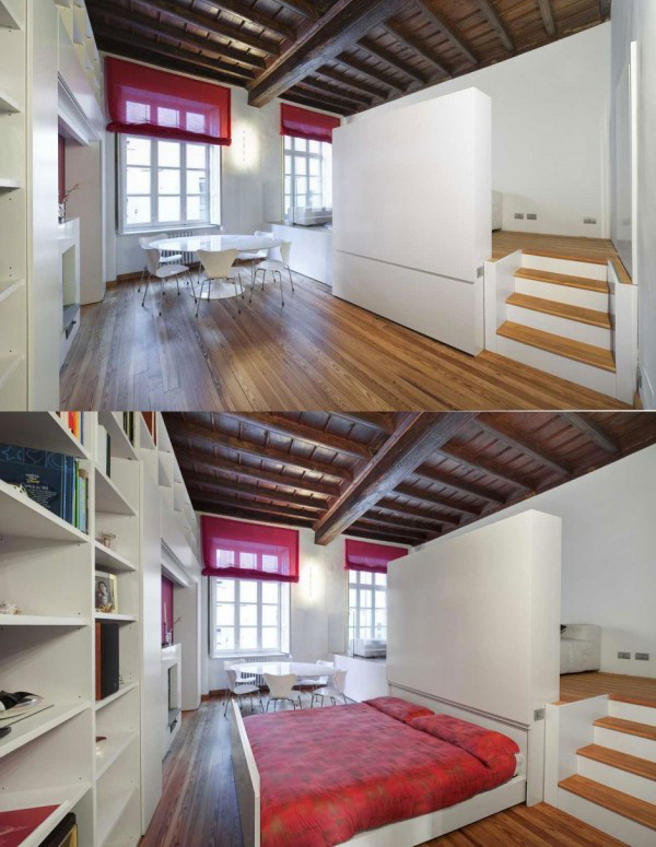 30 amazing space saving beds and bedrooms home design - Space saving ideas for small bedrooms ...