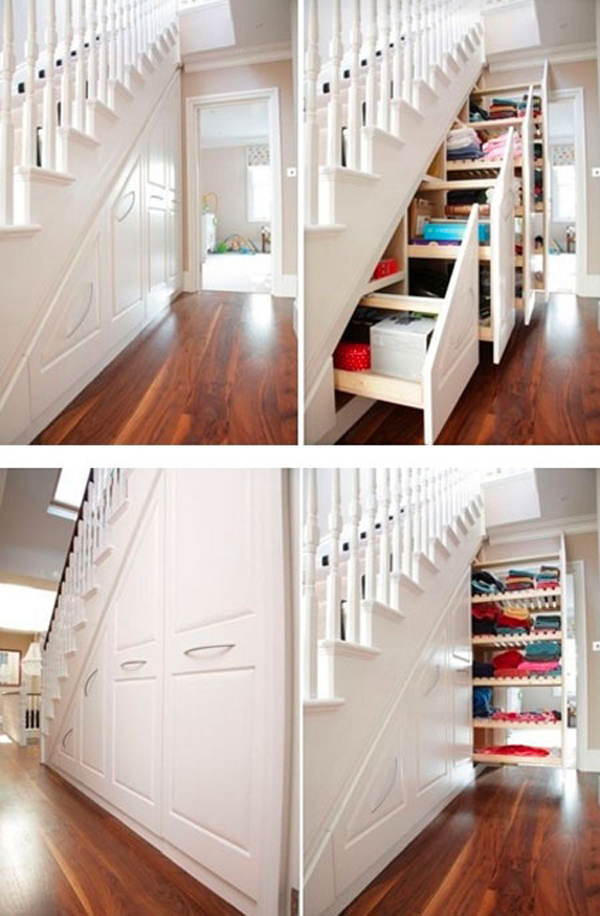 Understair Cabinet Saving Space