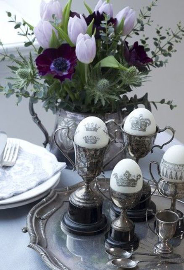 20 Inspiring Easter Decor With Vintage Touches Home Design And Interior