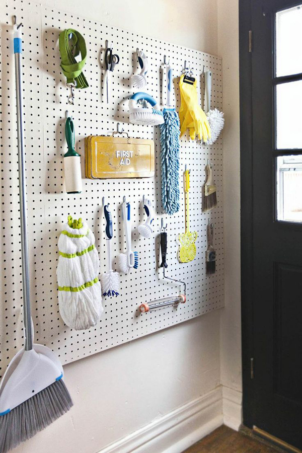 Wall Laundry Room Storage Solutions