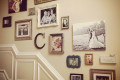 wonderful-vintage-stairs-gallery-wall