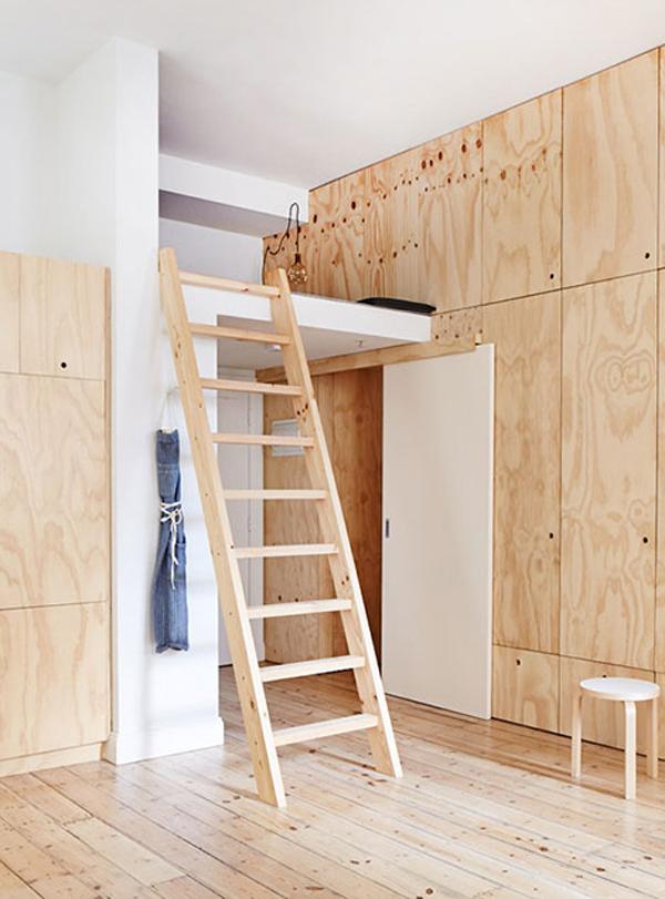 Apartment ladder interior design for Apartment design melbourne