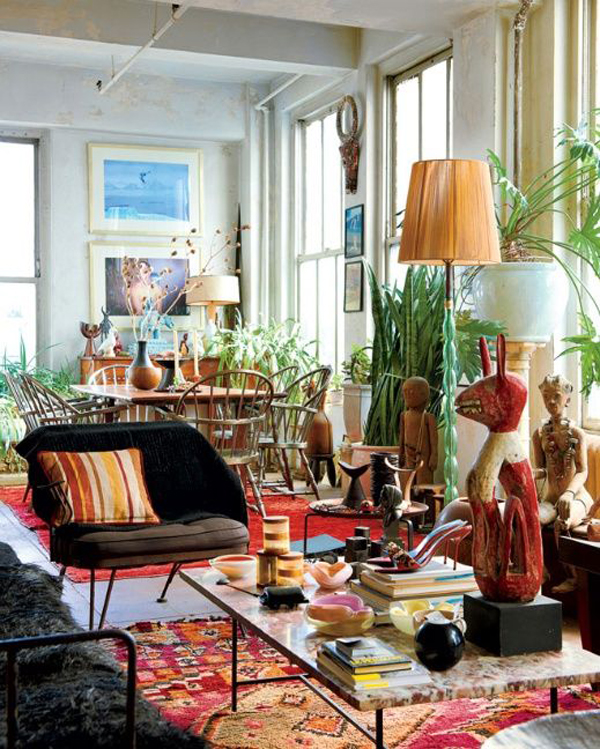 25 stunning bohemian interior ideas home design and interior for Ethnic home designs