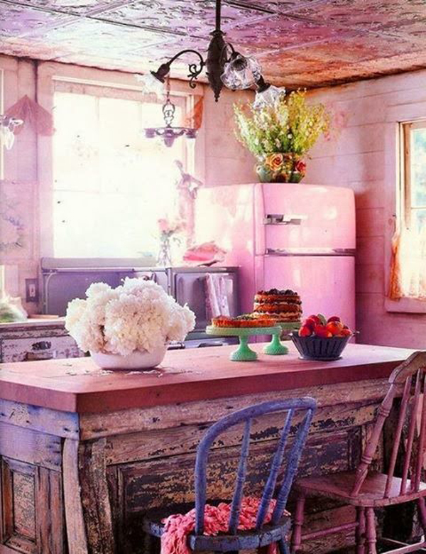 Kitchen Room Interior Design: 25 Stunning Bohemian Interior Ideas