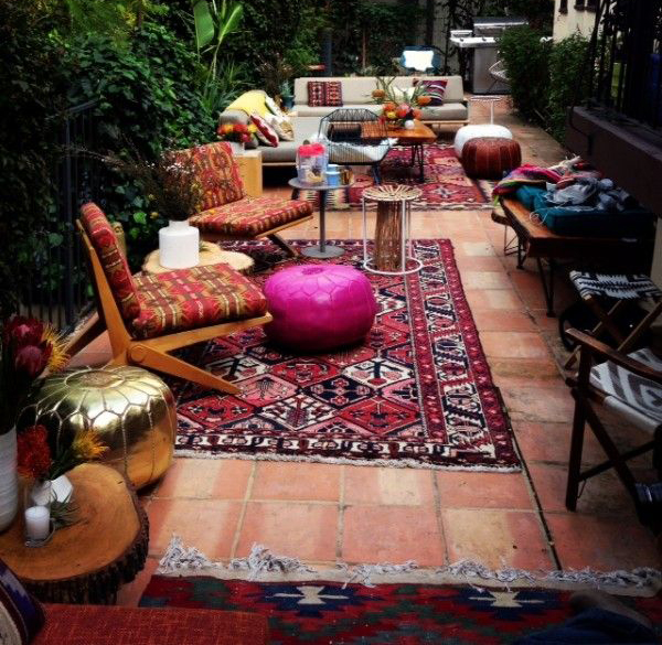 Boho Backyard Ideas : 25 Stunning Bohemian Interior Ideas  Home Design And Interior