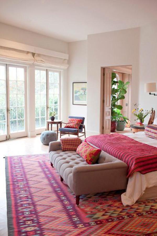 Bright Bohemian Bedrooms