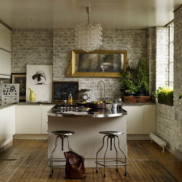 contemporary small kitchen decor