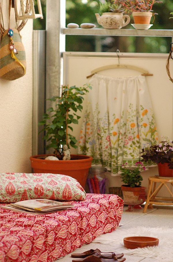 30 Beautifully Boho Chic Balcony Ideas Homemydesign