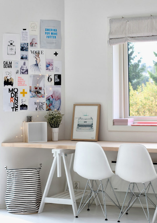 cutest home office designs from ikea home design and interior